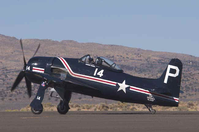 Grumman F8F Bearcat at Reno Air Races