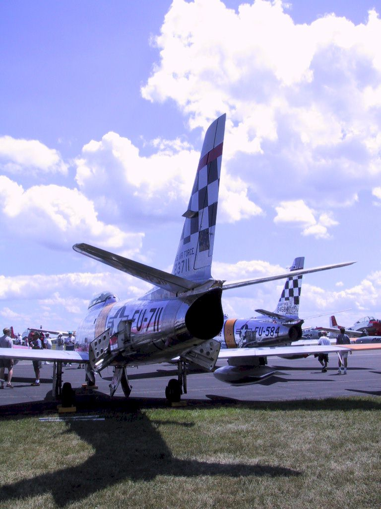 F-86 tails