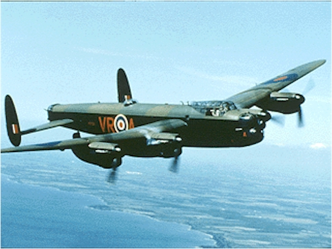 Image result for 4 October 1945 , The Lancaster PA278 disappearance involved Avro Lancaster Mk.