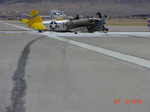 P-47 accident at ABQ.