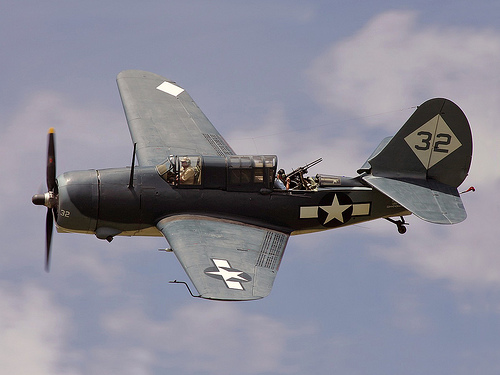 CAF West Texas Wing's SB2C Helldiver