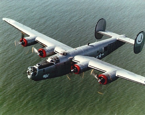 "B-24 Liberator ""All American"" (now called ""Witchcraft"")"