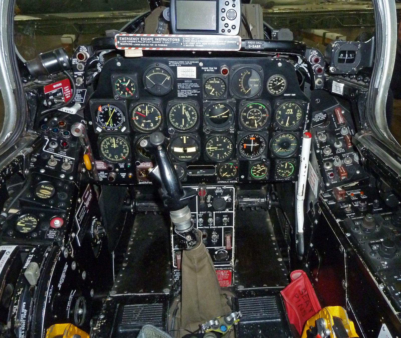 The Gallery For Gt F86 Sabre Cockpit