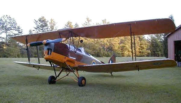 Warbird Alley: deHavilland D.H. 82 Tiger Moth