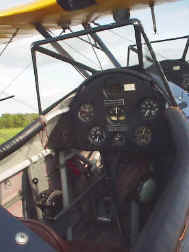 Stearman PT-17 Cockpit